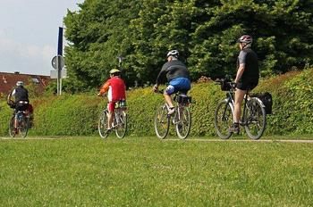 Fahrradtour zum Seepavillon in Weertzen